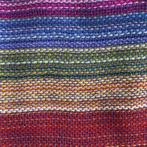 Accessories - NEW soft and colorful striped alpaca wool scarf
